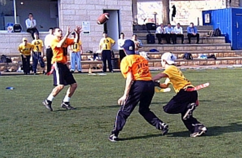 american football 298.88 (photo credit: Jay Abramoff)