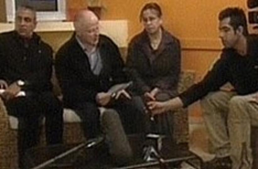 schalit press conference noam aviva (photo credit: Channel 1)