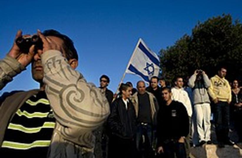 givat haparash watch gaza 248 88 ap (photo credit: AP)