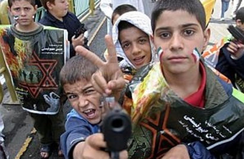 iran anti israel 298.88 (photo credit: Associated Press)