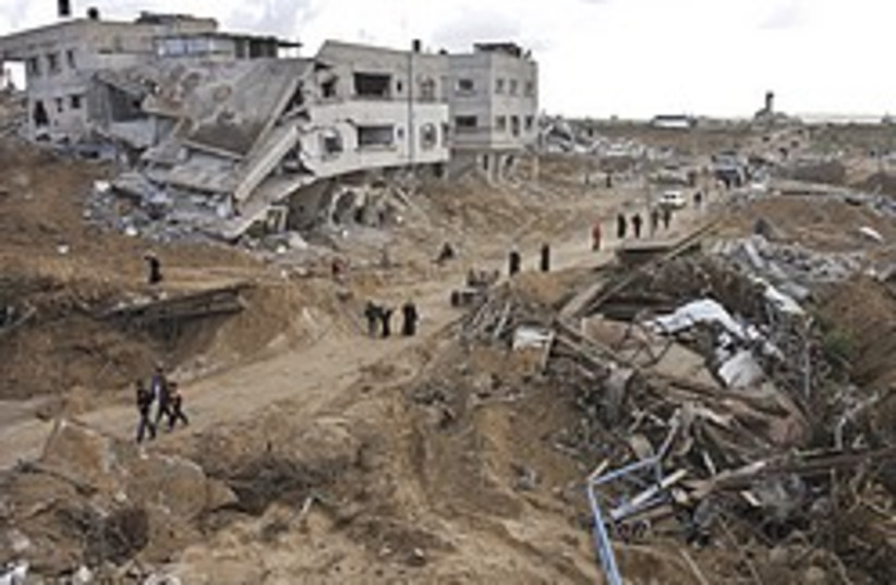gaza rubble 248.88 (photo credit: AP [file])