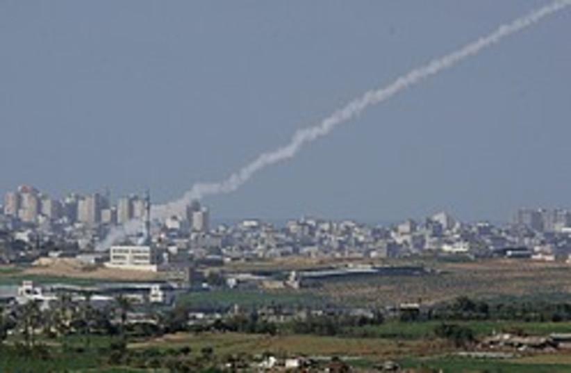 rocket smoke 248.88 (photo credit: AP)