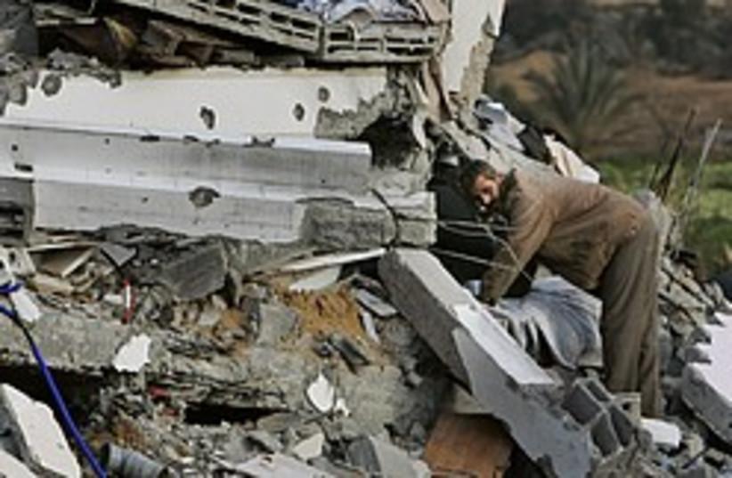 Gaza damage 248.88 (photo credit: AP)