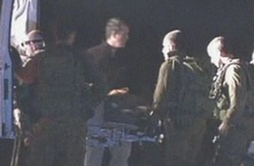 Moshe Avitan wounded 248.88 (photo credit: Channel 2)
