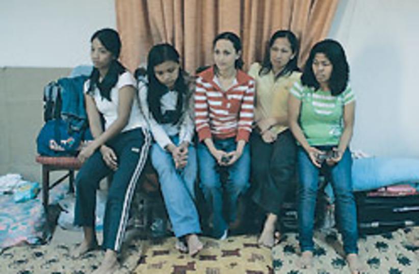 filipino maids 88 248 (photo credit: )