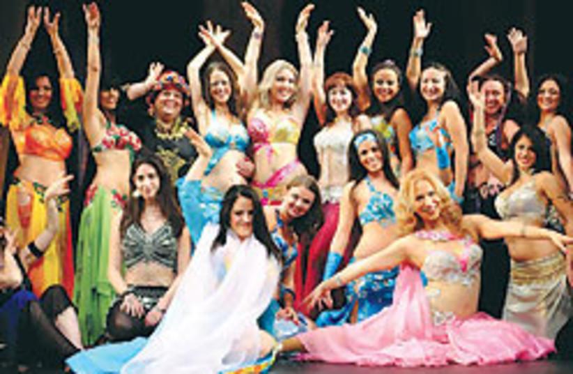 Belly Dancers 88 248 (photo credit: Galia Cohen)