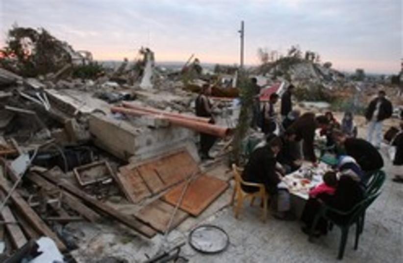 refugee food fatah gaza 248.88 ap (photo credit: AP)