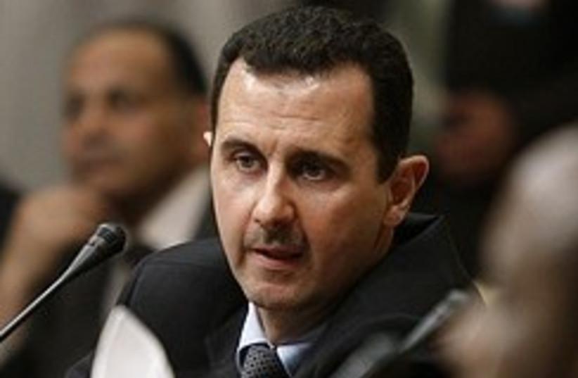 Bashar Assad 248.88 (photo credit: AP)