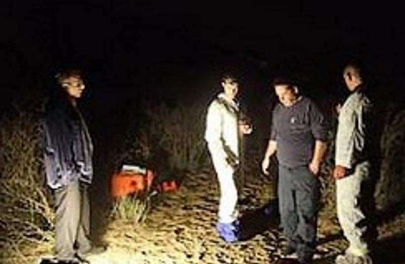 crime scene police murder holon 248 88 (photo credit: Israel Police)