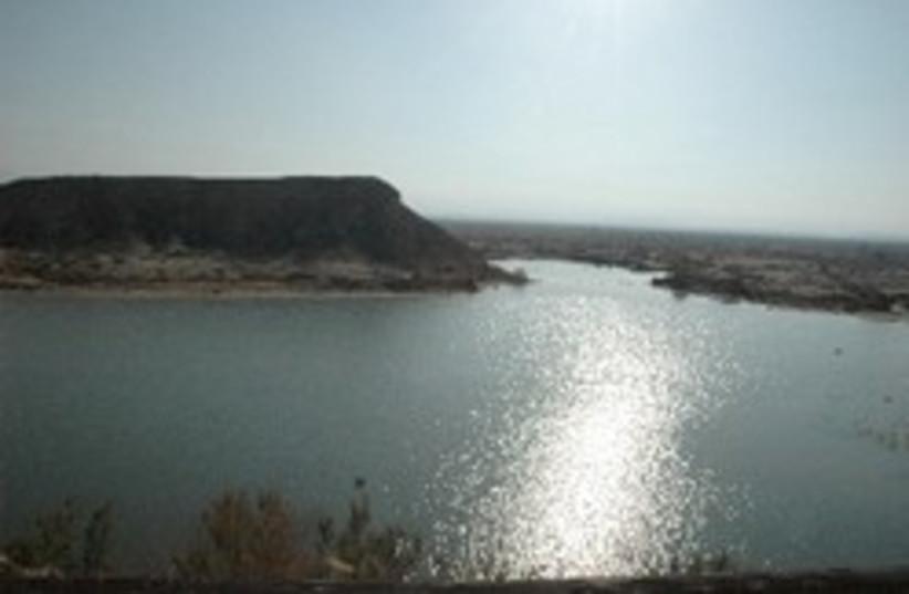 arava water reservoir (photo credit: Courtesy)