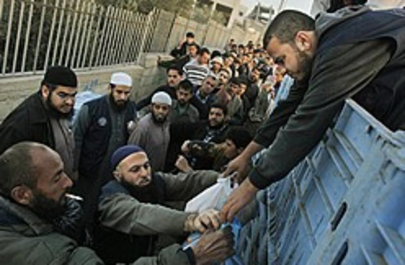 gaza aid 248 88 ap (photo credit: AP [file])