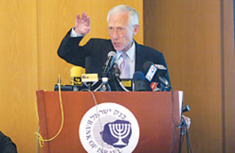 Stanley Fischer nice 88 248 (photo credit: Ariel Jerozolimski)