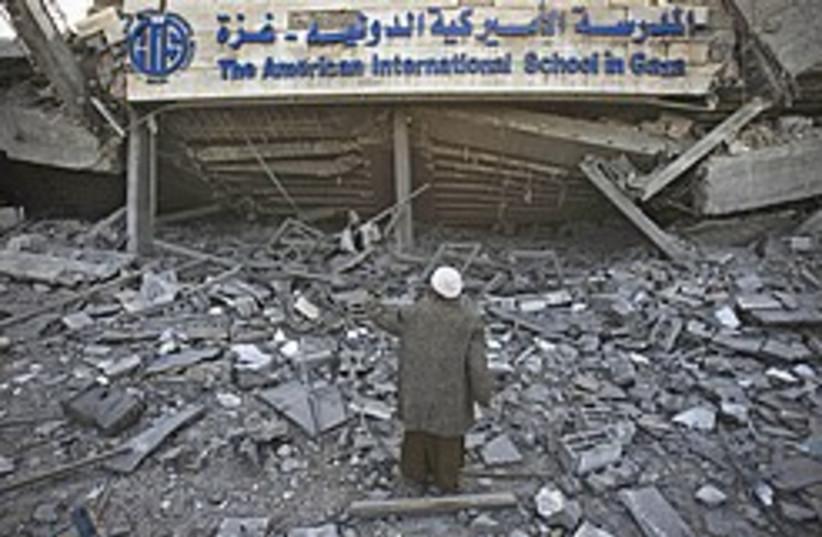 Beit Lahiya rubble 248.88 (photo credit: AP [file])