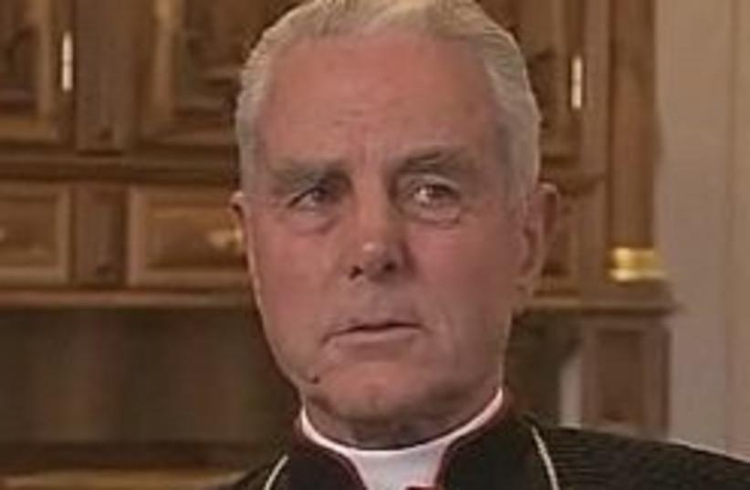 Bishop Richard Williamson 248.88 (photo credit: Courtesy / Swedish television screencapture )
