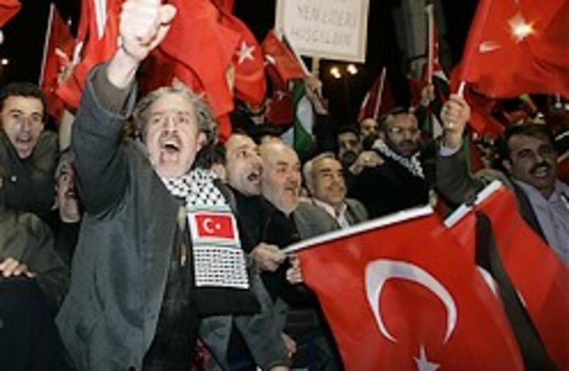 angry turks 248.88ap (photo credit: AP)