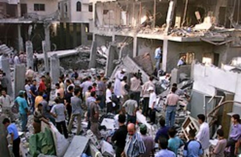 shehadeh rubble iaf strike hamas 248.88 (photo credit: AP [file])