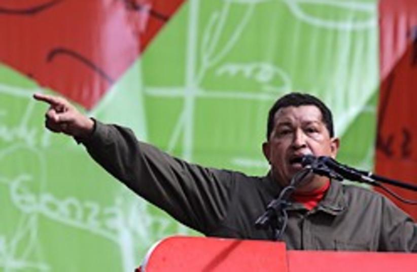 chavez venezuela it was them 248 88 (photo credit: AP [file])