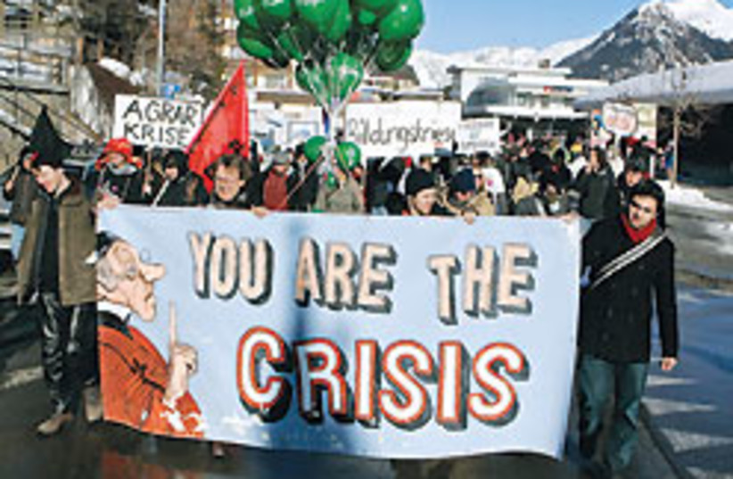 Davos protest 88 248 (photo credit: )