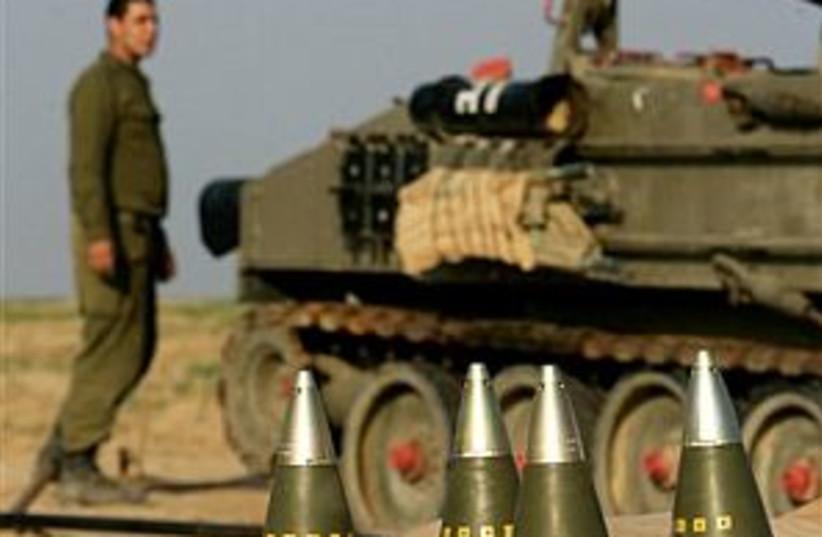 IDF shells 298 (photo credit: AP)