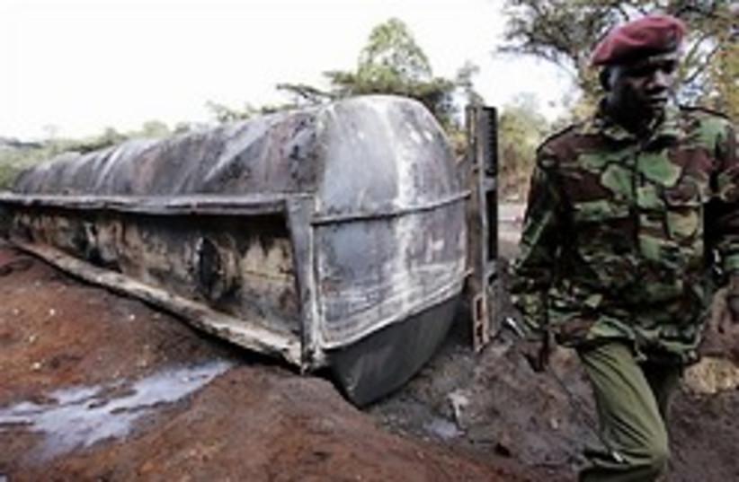 Kenya burnt tanker 248.88 (photo credit: AP)