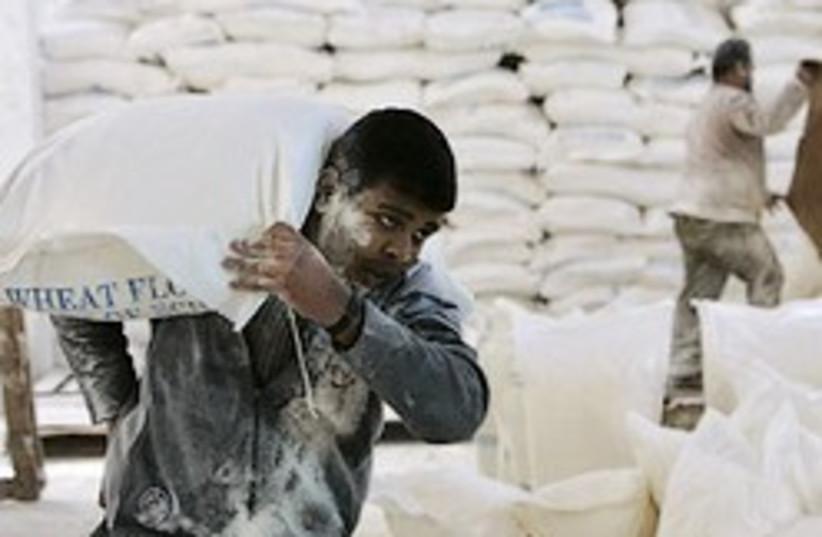 gaza aid flour 248.88 (photo credit: AP [file])