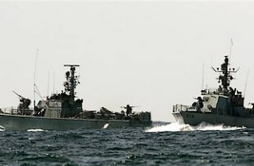 Navy ship gunboat 298 (photo credit: AP)