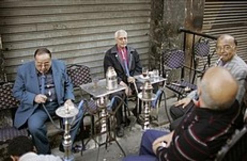 egypt cafe nargila bored 248 88 (photo credit: AP [file])
