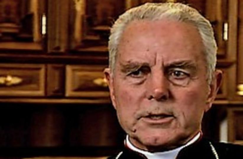 bishop wiliwmson holocaust 248 88 ap (photo credit: )