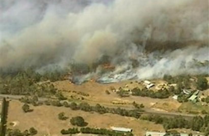 Australia wildfire 248.88 (photo credit: AP)