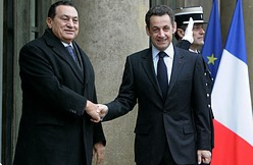 mubarak sarkozy paris 248 88 ap (photo credit: AP)