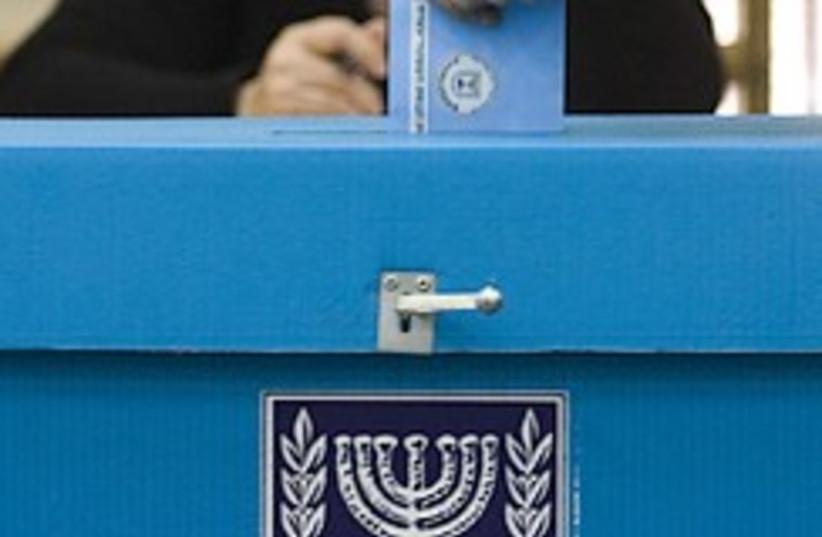 voting 2009 248.88 (photo credit: AP [file])