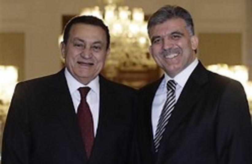 mubarak and gul best friends 248 88 ap (photo credit: )