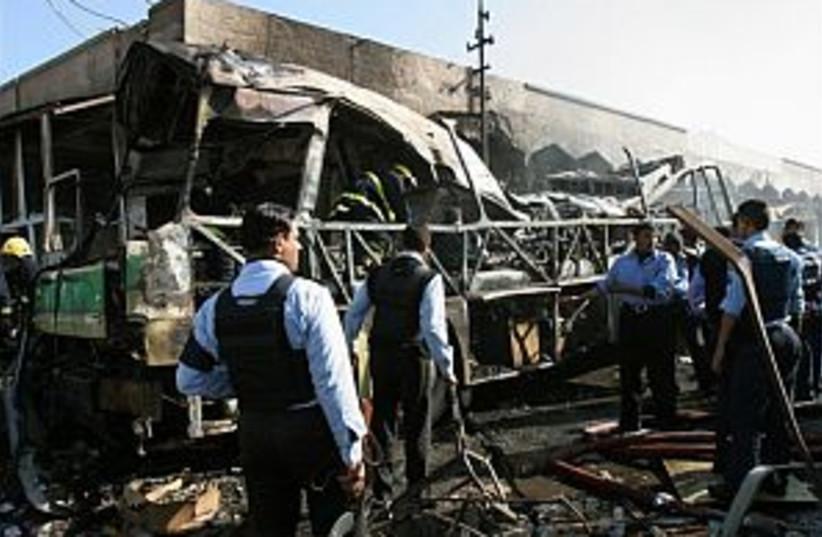 iraq bus bombing 298.88 (photo credit: )