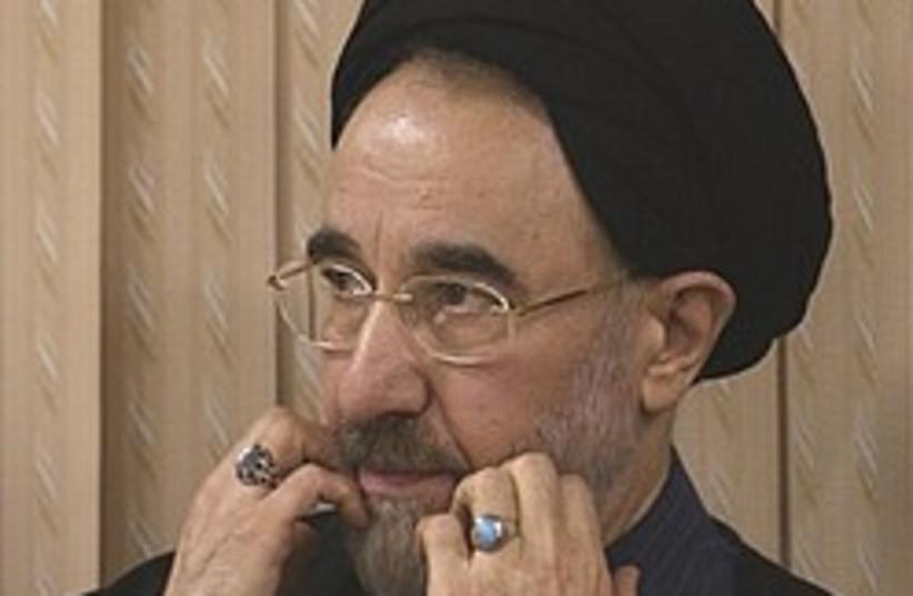 Khatami scared 248.88 ap (photo credit: AP [file])