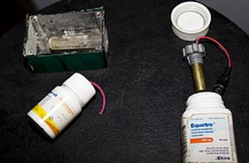 hamas pill bottle bombs 248 88 (photo credit: Courtesy)