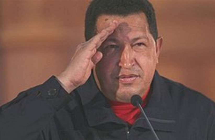 chavez salutes 248.88 ap (photo credit: AP [file])