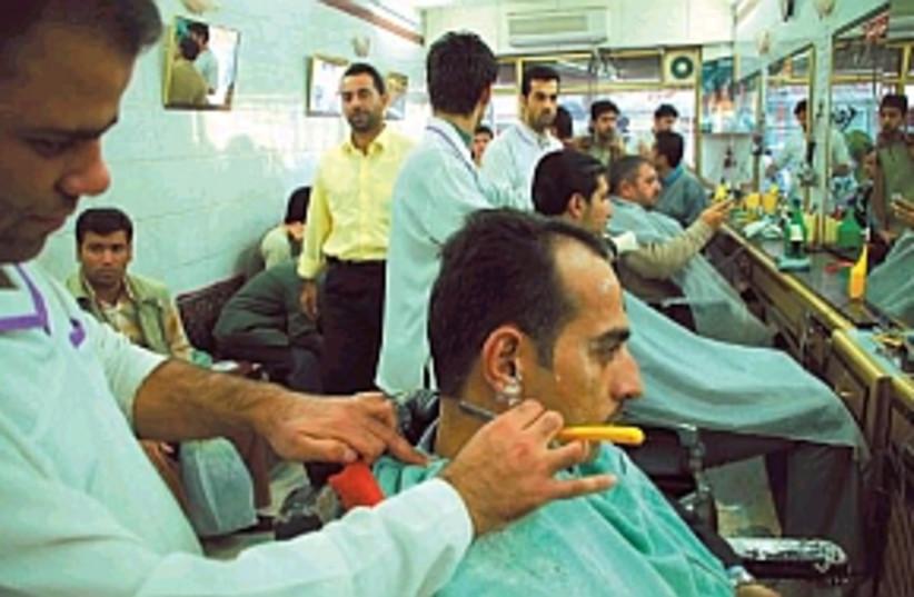 iraq barber 298 88 mattg (photo credit: Matthew Gutman)