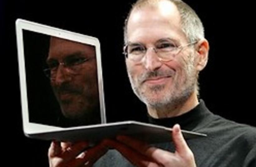 jobs apple macbook 248.88 ap (photo credit: AP [file])