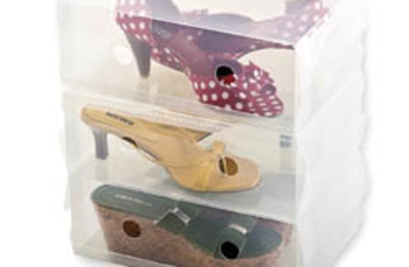 shoe box clear (photo credit: Courtesy)