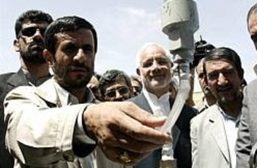 Ahmadinejad nuclear 248.88 (photo credit: AP [file])