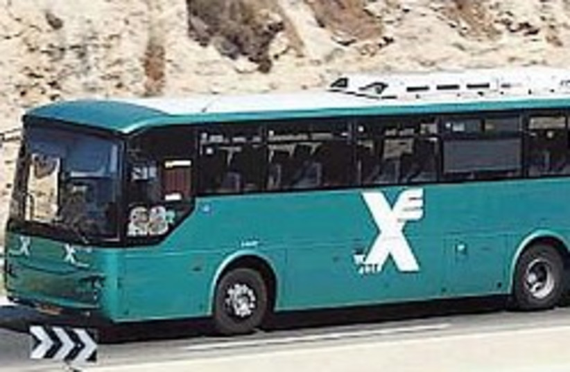 Egged bus 248.88 (photo credit: Ariel Jerozolimski [file])