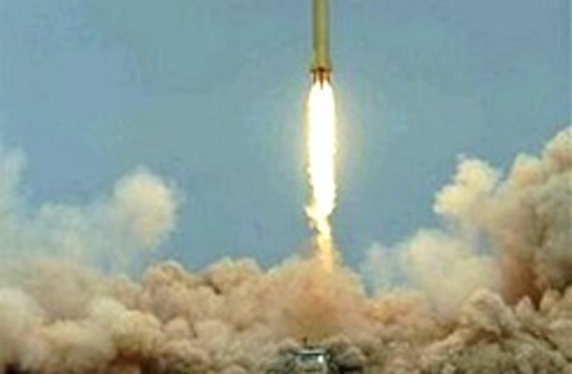 shihab 3 test launch (photo credit: FARS)