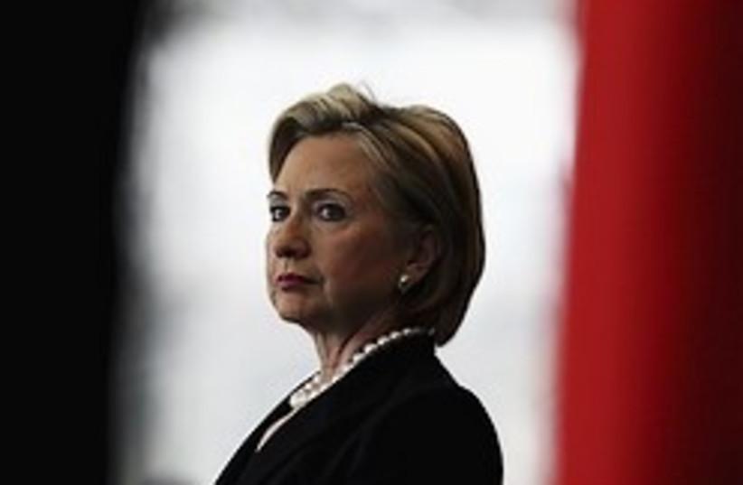 clinton serious 248 88 ap (photo credit: AP [file])