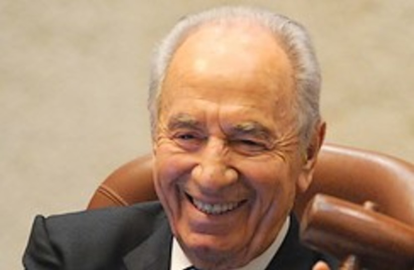peres laughs 248.88 (photo credit: GPO [file])