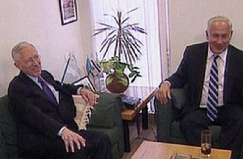 netanyahu fischer 248 88 (photo credit: Channel 2 [file])