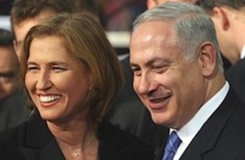 Livni Netanyahu 248.88  (photo credit: Ariel Jerozolimski)