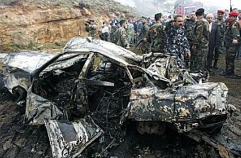 beirut car bomb 298 (photo credit: )