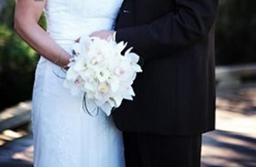 wedding 248.88 (photo credit: AP)