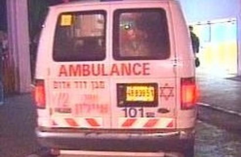 ambulance 248.88 (photo credit: Channel 2)