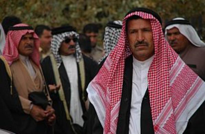 saudi arabian sheikhs298 (photo credit: Matthew Gutman)